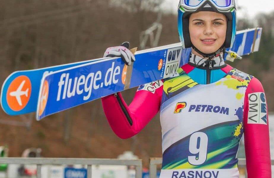 Dana Haralambie, una dintre cele două reprezentante ale României la competiția de la Râșnov