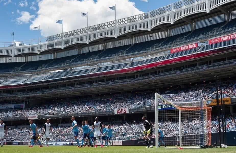 Yakees Stadium, arena pe care New York City își dispută meciurile de pe teren propriu