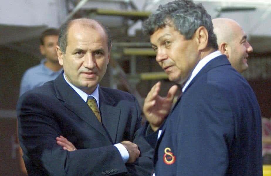 George Copos și Mircea Lucescu