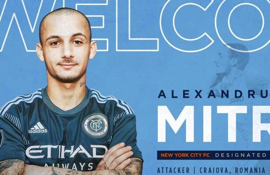 Alexandru Mitriță a fost prezentat oficial la New York City