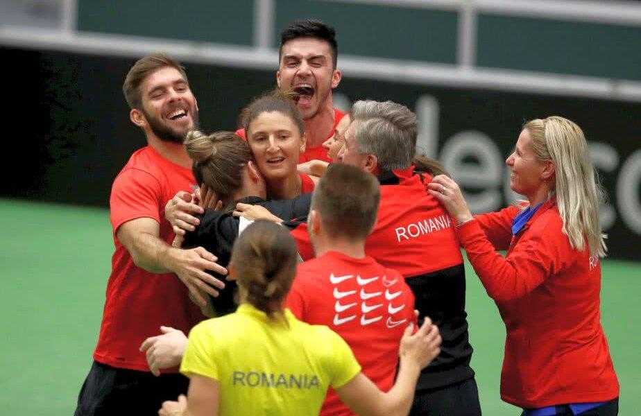 România a învins Cehia și va juca în semifinalele Fed Cup împotriva Franței, în aprilie // FOTO: Reuters