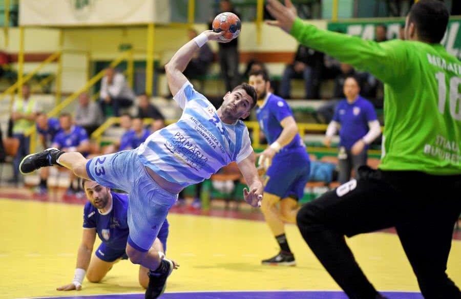 Zoran Nikolici, pivotul Constanței în meciul contra Stelei, de la jumătatea săptămânii FOTO Raed Krishan