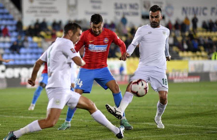 Chiajna s-a impus în tur, la Voluntari, cu FCSB, scor 1-0