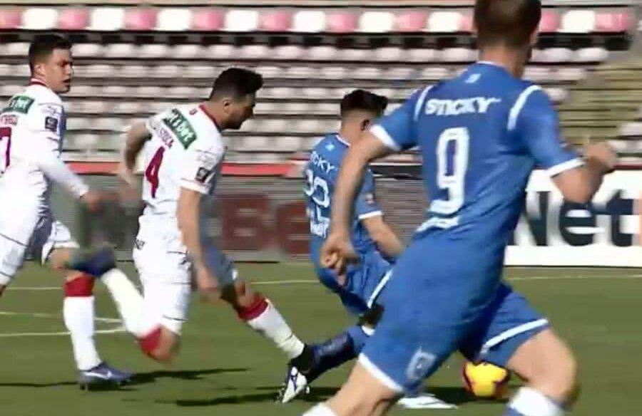 Ionuț Stoica și Cristi Bărbuț // FOTO: Captură TV Telekom Sport