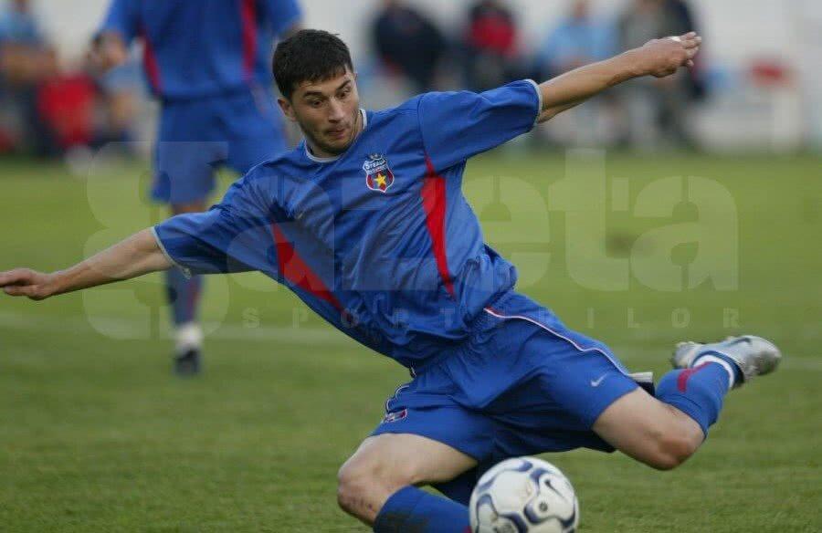 Claudiu Răducanu a fost golgeterul Stelei în sezonul 2002-2003, cu 21 de reușite