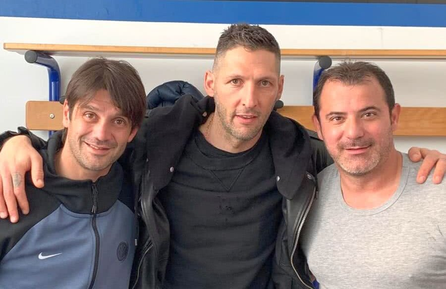 Cristi Chivu, Marco Materazzi, Leave Stankovic // PHOTO: Instagram