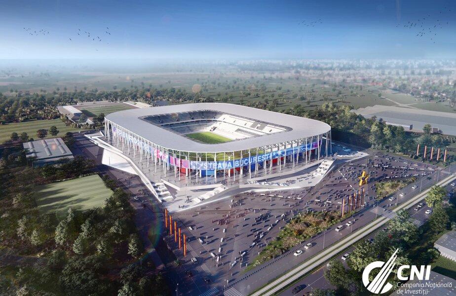 Stadion Steaua // Stadioane pentru EURO 2020 FOTO: facebook.com/companianationaladeinvestitiisa