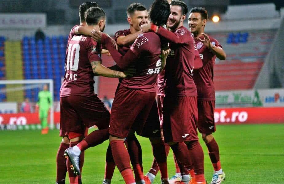 CFR Cluj e lider în Liga 1, cu 3 puncte peste Craiova și FCSB
