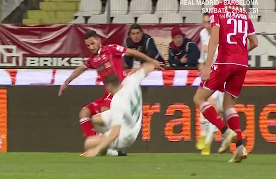 FOTO: Captură@TV Telekom Sport