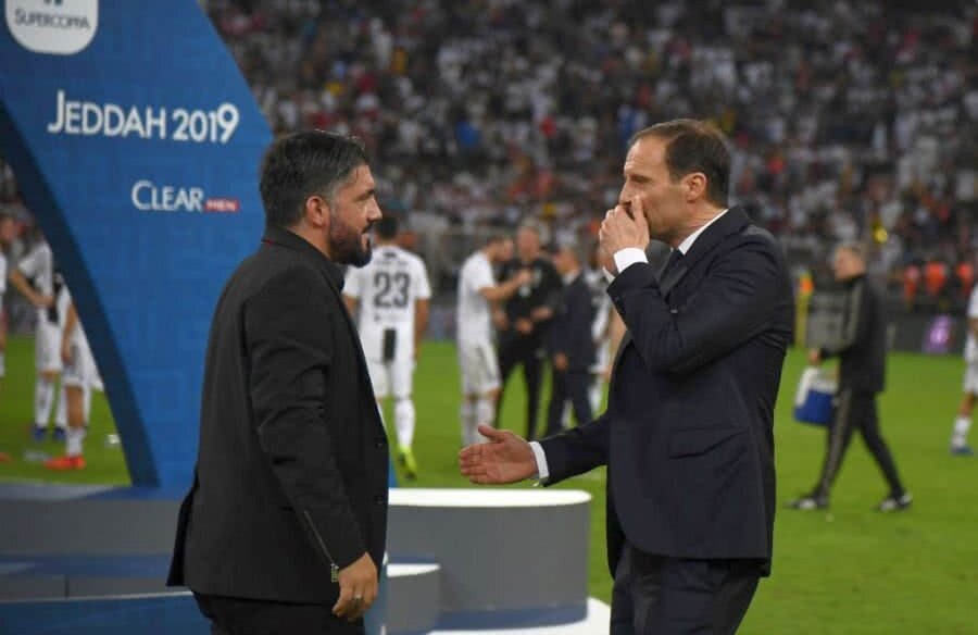 Allegri și Gattuso FOTO: Guliver/GettyImages