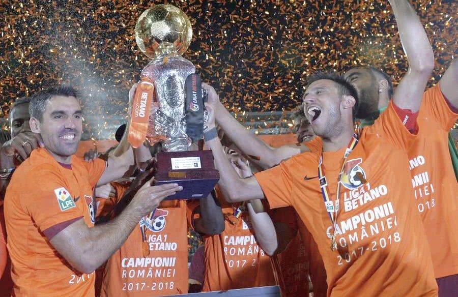 CFR Cluj a câștigat campionatul în sezonul trecut