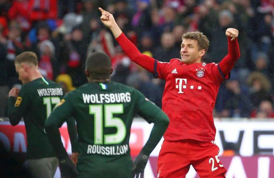 Bayern Munchen - Wolfsburg 6-0 // foto: Reuters