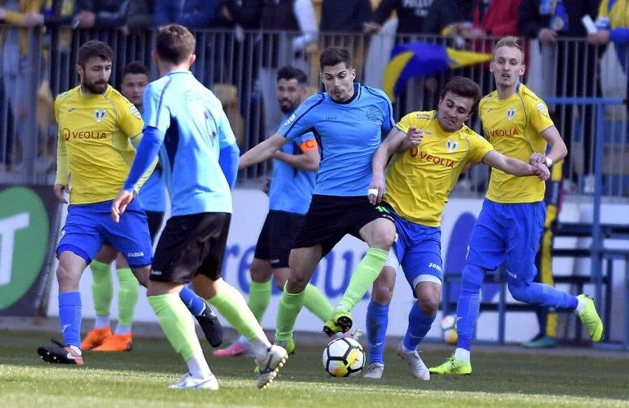 Metaloglobus a remizat pe Ilie Oană, 1-1