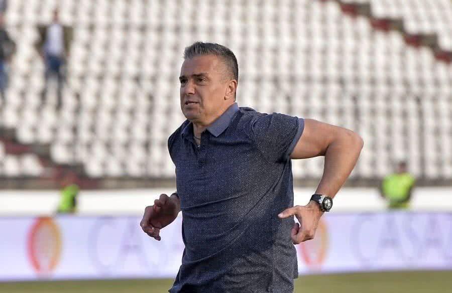 Daniel Pancu a devenit antrenor al Rapidului după plecarea lui Constantin Schumacher
