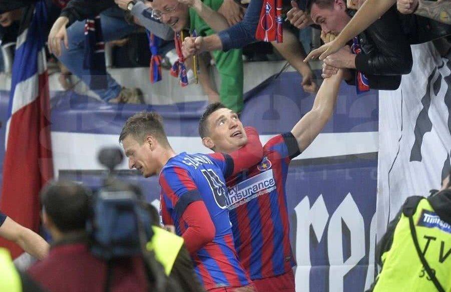 Claudiu Keșeru a fost unul dintre cei mai buni fotbaliști din Liga 1 în perioada petrecută la FCSB