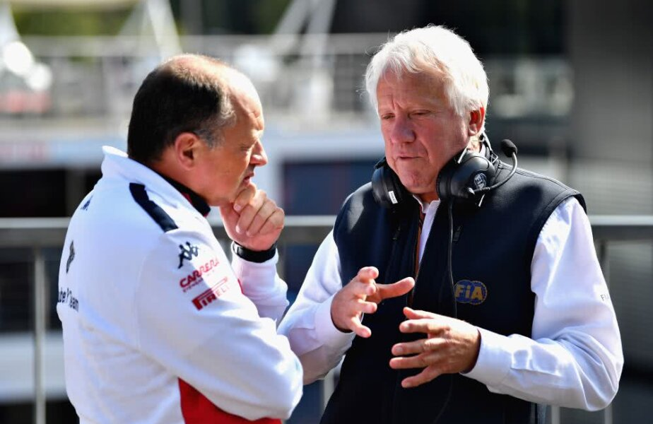 Charlie Whiting, dreapta, foto: Guliver/gettyimages