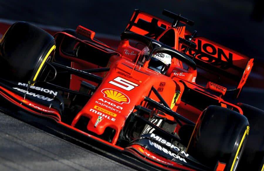 Sebastian Vettel. foto: Guliver/GettyImages