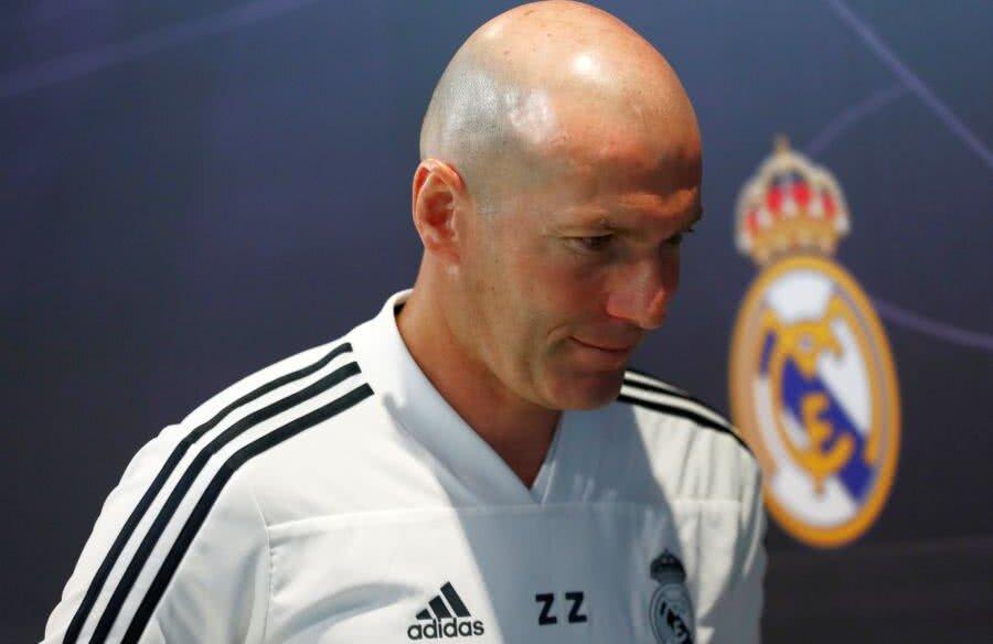 Zinedine Zidane încearcă să salveze sezonul celor de la Real Madrid // FOTO: Reuters
