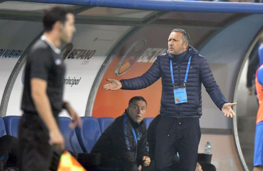 MM Stoica a criticat în deseori arbitrii pe parcursul acestui sezon // FOTO: GSP