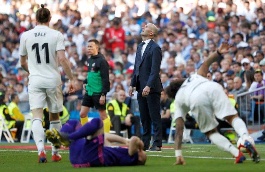 Zinedine Zidane în Real Madrid - Celta Vigo 2-0 // FOTO: Reuters