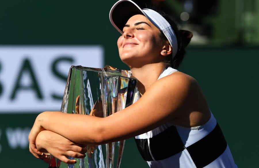 Bianca Andreescu s-a impus la Indian Wells // FOTO: Reuters