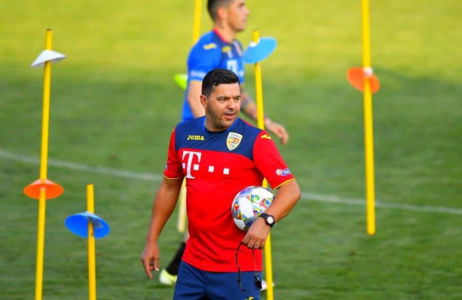 Cosmin Contra are bătăi de cap înaintea meciului cu Suedia // FOTO: GSP