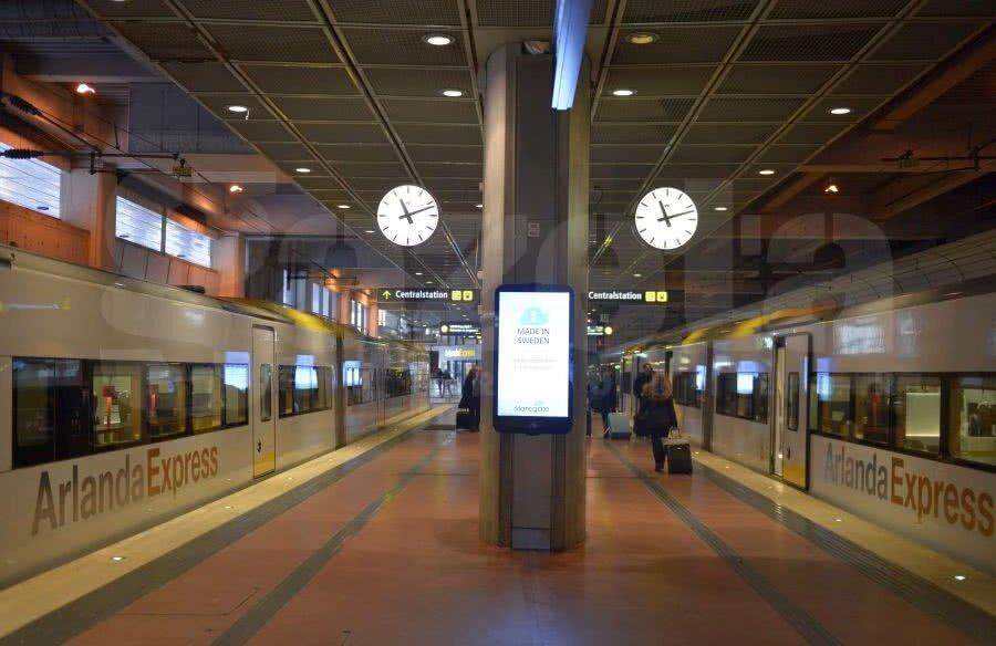 Arlanda Express Stockholm // FOTO: Cristi Preda