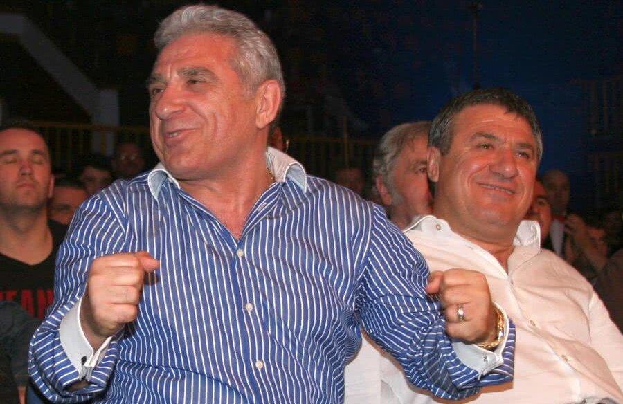 Ioan Becali și Victor Becali