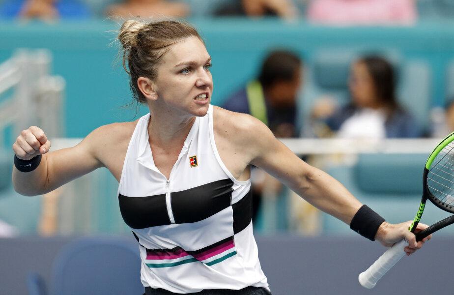FATA CARE NU RENUNȚĂ NICIODATĂ. Simona Halep a învins-o pe slovena Polona Hercog (93 WTA), scor 5-7, 7-6(1), 6-2, într-un meci care a durat două ore și 45 de minute (foto: REUTERS)