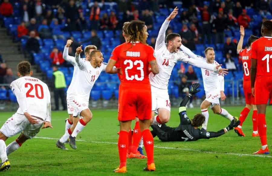 Elveția - Danemarca 3-3 // FOTO: Reuters
