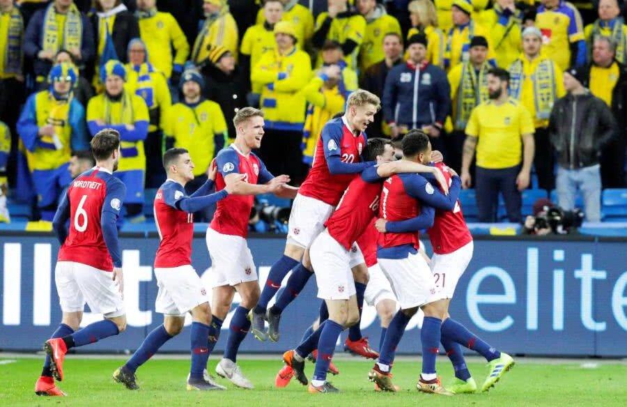 Norvegia - Suedia 3-3 // FOTO: Reuters