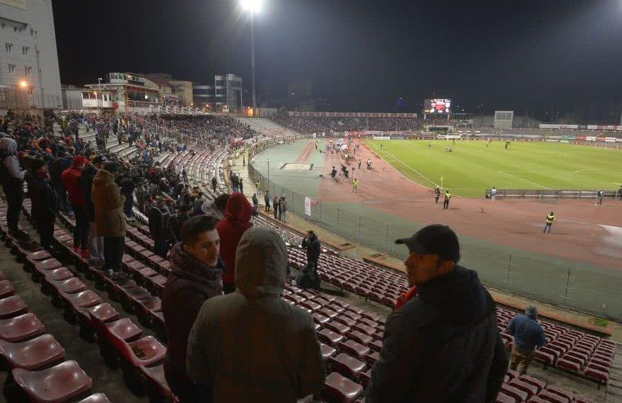 Suporterii dinamoviști au părăsit echipa din cauza condițiilor insalubre care se găsesc pe stadionul Dinamo în acest moment