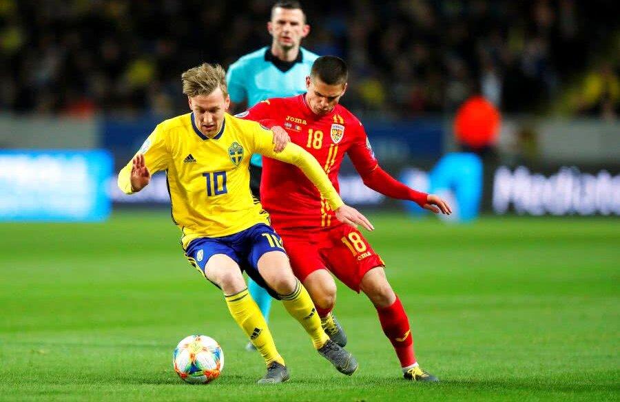 Forsberg a contribuit la ambele goluri ale suedezilor contra noastră // Foto: Reuters