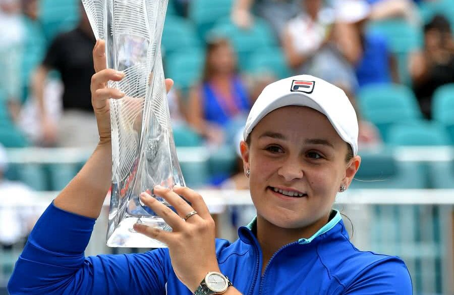 Ashleigh Barty // FOTO: Reuters