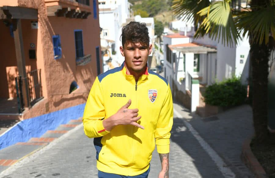 Florinel Coman e încrezător că se va impune și în fotbalul la nivel european FOTO Raed Krishan