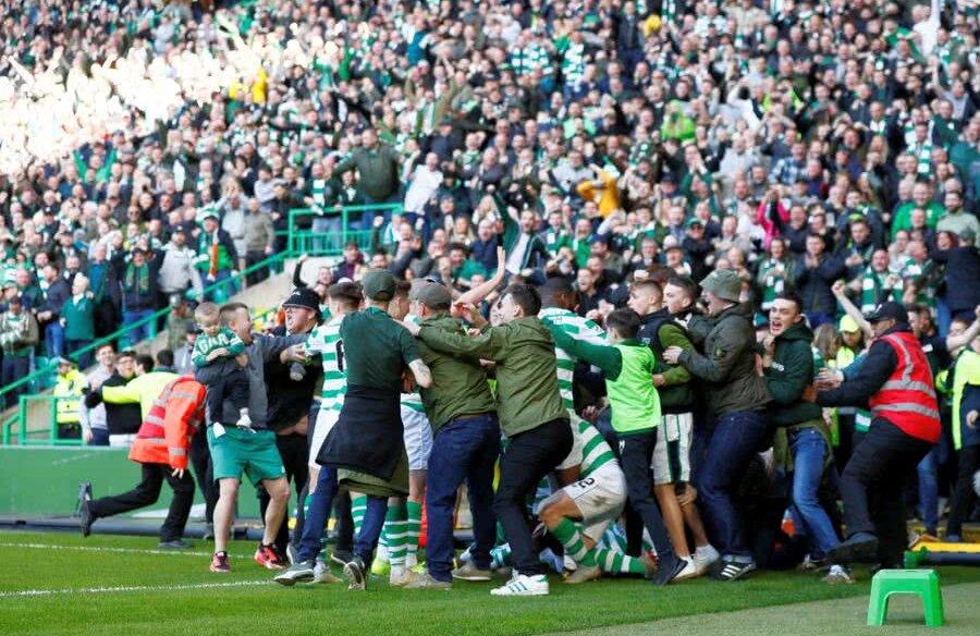 Celtic - Rangers // FOTO: Reuters