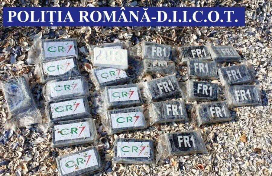 Pachetele de cocaină CR7 la Cap Aurora