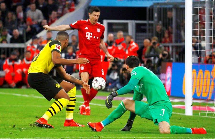 Bayern Munchen - Borussia Dortmund 3-0 // FOTO: Reuters