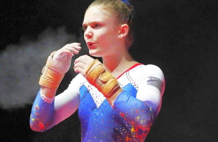 Denisa Golgotă, 17 ani ani, a debutat la senioare la CE 2018 // FOTO: Guliver/Getty Images
