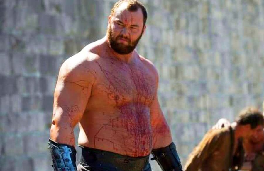 """""""The Mountain"""" din Game of Thrones"""
