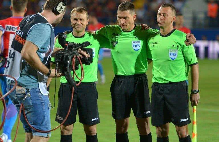 Brigada condusă de Istvan Kovacs va oficia la EURO 2019