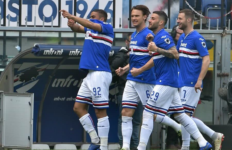 Sampdoria - Genoa // FOTO: Guliver/GettyImages