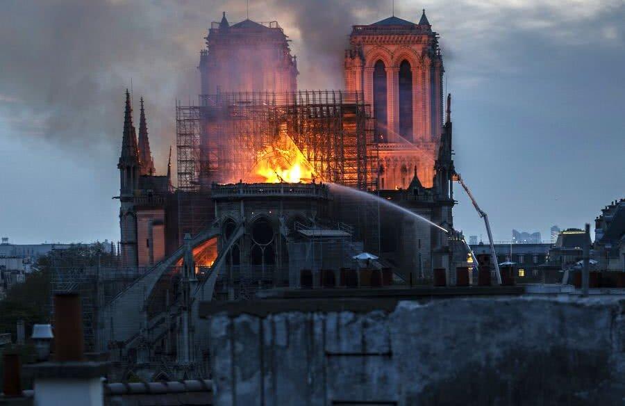 Cathédrale Notre-Dame de Paris, luni // FOTO: Guliver/Getty Images