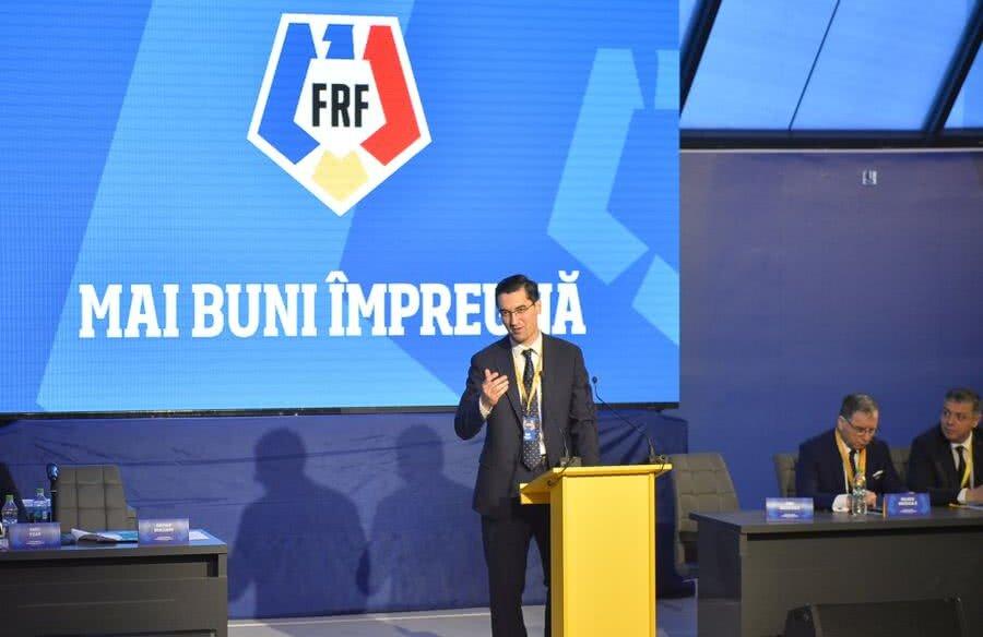 Răzvan Burleanu a defilat la Adunarea Generală în fața unor votanți obedienți și a noii sigle FRF
