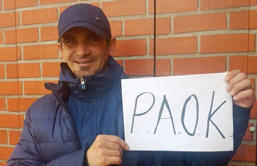 Cosmin Bărcăuan a bifat 30 de meciuri într-un sezon pentru PAOK Salonic
