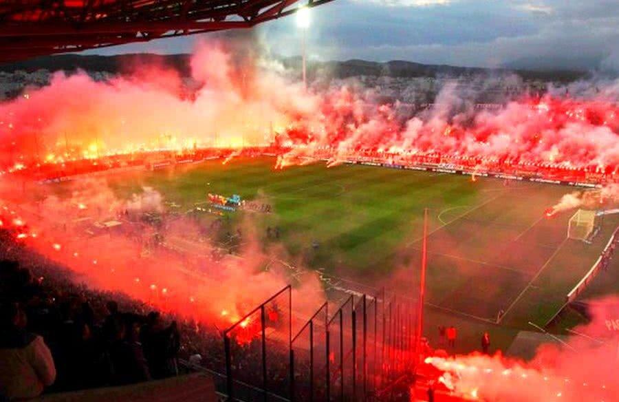 """""""Toumba"""" va fi un adevărat vulcan la meciul PAOK - Levadiakos de duminică"""