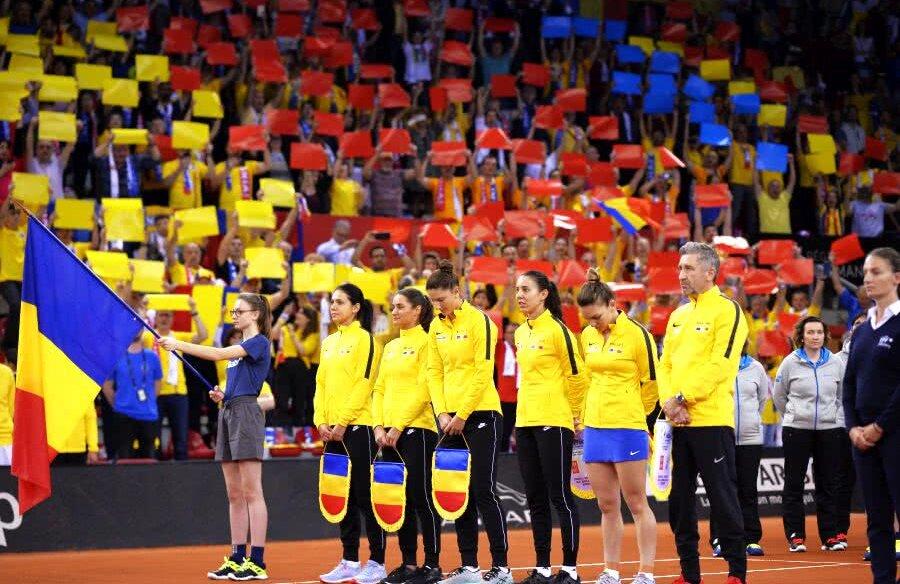 Franța - România, imagini de la începutul meciului, din sala Kindarena din Rouen // FOTO: Raed Krishan