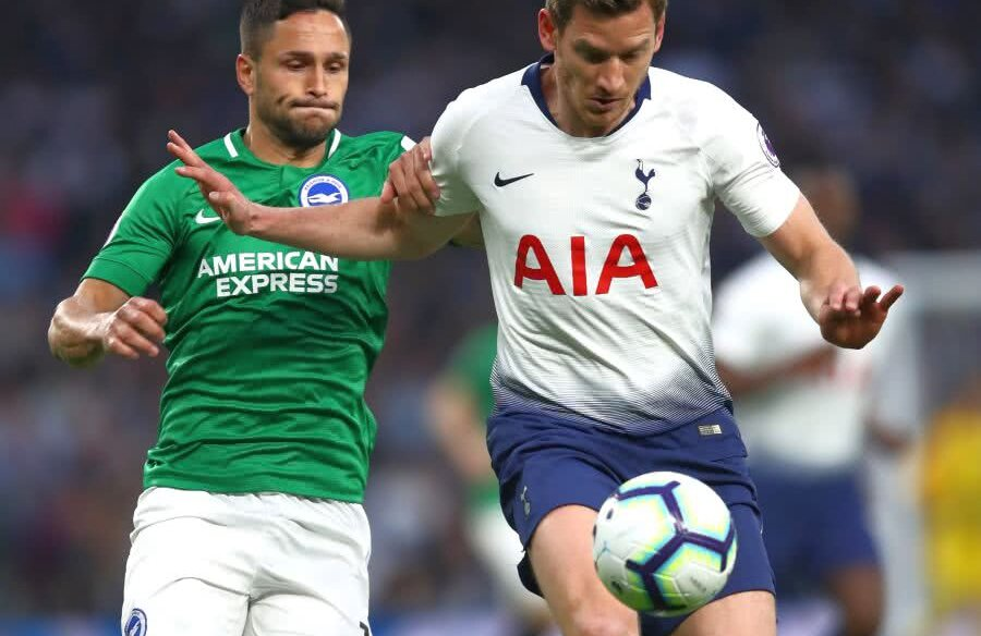 Florin Andone în Tottenham - Brighton 1-0 // FOTO: Guliver/Getty Images