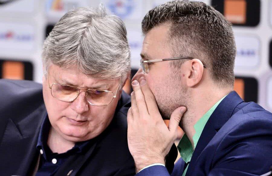 Gino Iorgulescu și Justin Ștefan, adică numărul 1 și numărul 2 în structura LPF FOTO: sportpictures.eu