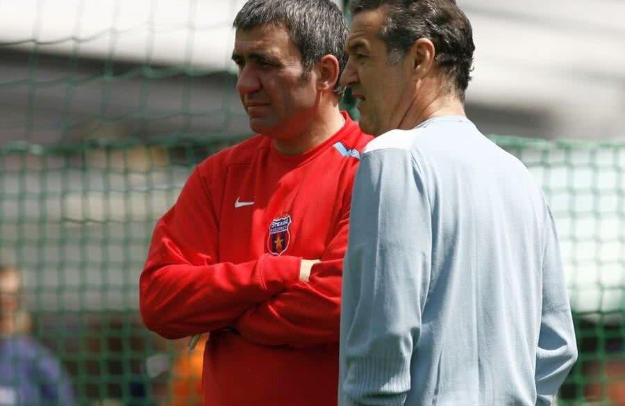Gică Hagi și George Becali